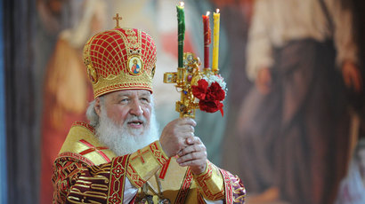 Patriarch of Moscow and All Russia Kirill.(RIA Novosti / Sergey Pyatakov)