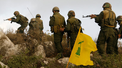 A group of Hezbollah fighters.(Reuters / Ali Hashisho)