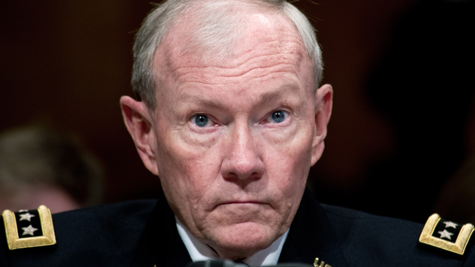 Gen. Martin Dempsey (AFP Photo)