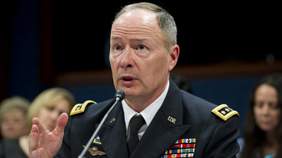 National Security Agency Director General Keith Alexander (AFP Photo / Saul Loeb)