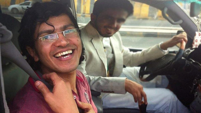 Abdulelah Haider Shaye (Image from twitter user@jeremyscahill)
