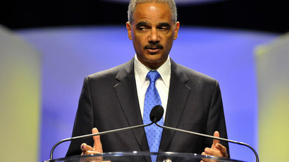 Attorney General Eric Holder.(AFP Photo / Tim Boyles)