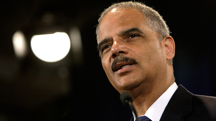 U.S. Attorney General Eric Holder (Reuters / Jonathan Ernst)