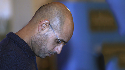 Saif al-Islam Gaddafi, the son of Libyan leader Muammar Gaddafi (Reuters / Ahmed Jadallah)