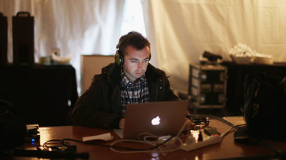 American journalist Michael Hastings.(AFP Photo / Chip Somodevilla)