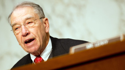 'Patron saint of whistleblowers' US Senator Chuck Grassley, R-IA (AFP Photo/Jim Watson)