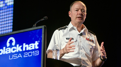 General Keith Alexander, director of the National Security Agency (Reuters / Steve Marcus)