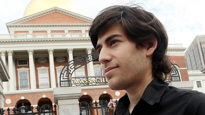 Aaron Swartz (Image from facebook.com)