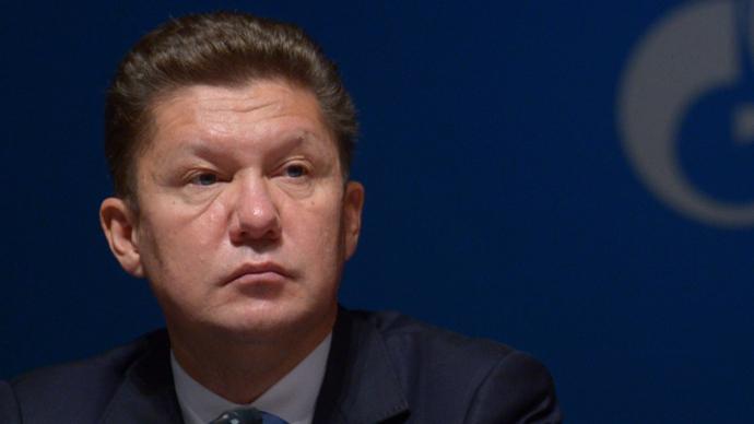 Aleksey Miller (RIA Novosti / Grigoriy Sisoev)