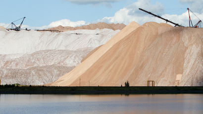 BHP Billiton bets $2.6bn on fertilizers amid potash market chaos