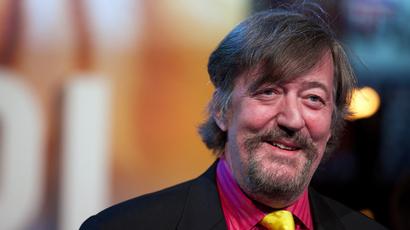 British actor Stephen Fry (AFP Photo)