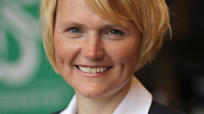 Sweden's IT Minister, Anna-Karin Hatt (Image from wikipedia.org)
