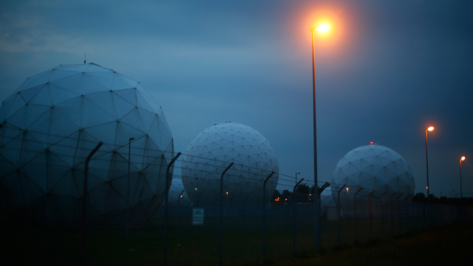 A general view of the large former monitoring base of the U.S. intelligence organization National Security Agency (NSA) during break of dawn in Bad Aibling south of Munich (Reuters / Michael Dalder)