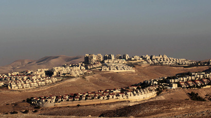 A view of the West Bank Jewish settlement of Maale Adumim is seen near Jerusalem (Reuters/Ammar Awad)