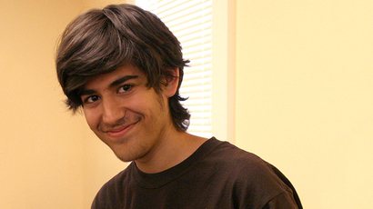 Aaron Swartz (Image from flickr.com user@docsearls)