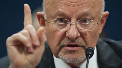 US Director of National Intelligence James Clapper.(AFP Photo / Saul Loeb)