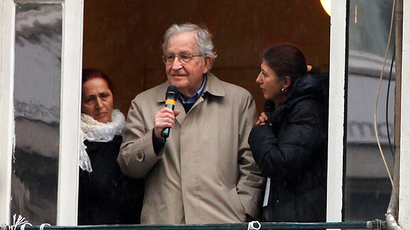 US scholar and activist Noam Chomsky (AFP Photo / Mira)