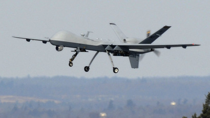 A U.S. Air Force MQ-9 Reaper unmanned aerial vehicle (Reuters/U.S. Air Force/Tech. Sgt. Ricky Best)