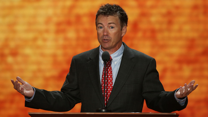 U.S. Sen. Rand Paul (AFP Photo / Mark Wilson)