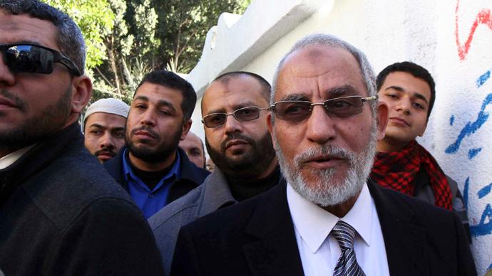Egyptian security forces arrest Muslim Brotherhood leader