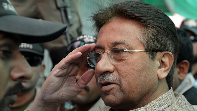 Former Pakistani president Pervez Musharraf (AFP Photo)