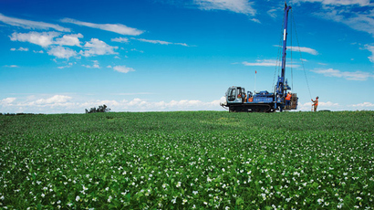 BHP Billiton's Jansen operation in Saskatchewan, Canada (image from http://www.bhpbilliton.com)