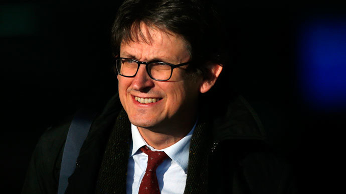 Guardian editor Alan Rusbridger.(Reuters / Andrew Winning)