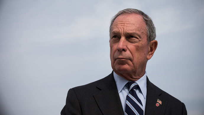 New York City Mayor Michael Bloomberg.(AFP Photo / Andrew Burton)