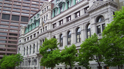 John Adams Courthouse, home to the Supreme Judicial Court of Massachusetts. (Photo from Wikipedia.org)