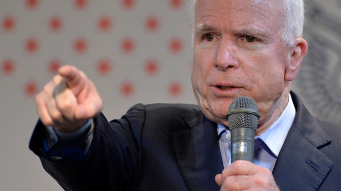 US Senator John McCain (AFP Photo / Pool / Franck Robichon)
