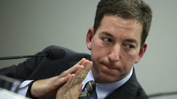 Glenn Greenwald, the American journalist who first published the documents leaked by former NSA contractor Edward Snowden (Reuters/Ueslei Marcelino)