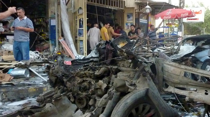 Over 90 killed in Iraq suicide bombings targeting Shiites