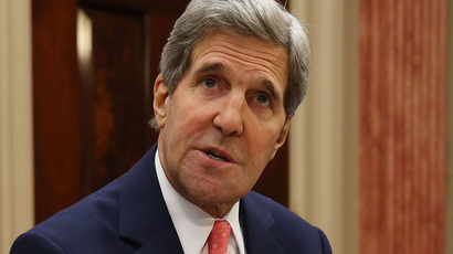 Secretary of State John Kerry (AFP Photo /  Mark Wilson)