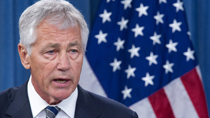 US Defense Secretary Chuck Hagel (AFP Photo / Paul J. Richards)