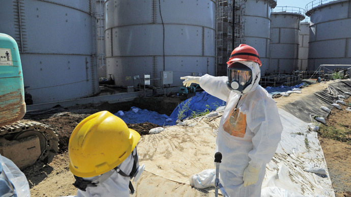 New radioactive hotspots suggest more leaks at Fukushima