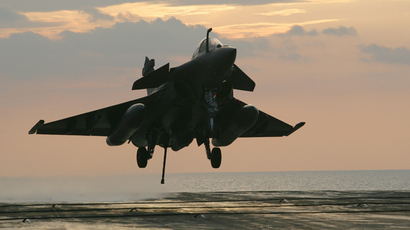 A French Navy Rafale jet fighter (AFP Photo)