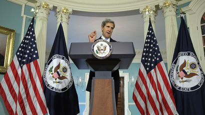 U.S. Secretary of State John Kerry (AFP Photo / Alex Wong)