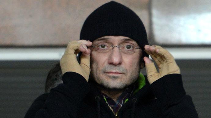 Russian entrepreneur Suleiman Kerimov (RIA Novosti / Iliya Pitalev)