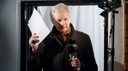 WikiLeaks founder Julian Assange.(AFP Photo / Leon Neal)