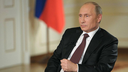 Russian President Vladimir Putin (Photo from Kremlin.ru)