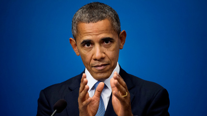 US President Barack Obama (Reuters / Scanpix Sweden / Jessica Gow)