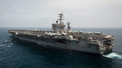 USS NImitz (AFP Photo / Navy Media Content Services / HO / Raul Moreno)