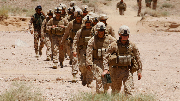 U.S. Marines (Reuters / Muhammad Hamed)