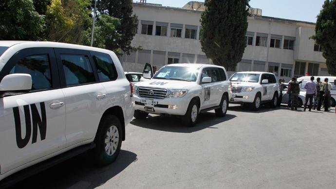 Humanitarian workers under threat in Syria - UN