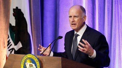California Governor Jerry Brown (Reuters / Mario Anzuoni)