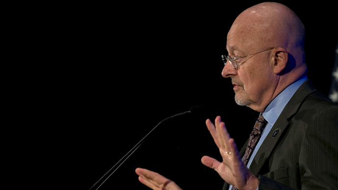 Director of National Intelligence James Clapper (Win McNamee/Getty Images/AFP)