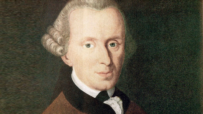 Immanuel Kant (Image from Wikipedia.org)