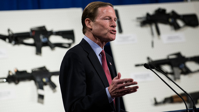 Senator Richard Blumenthal (AFP Photo / Brendan Smialovsky)