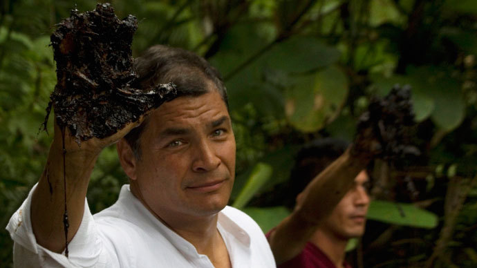 Ecuador's President Rafael Correa.(Reuters / Guillermo Granja)