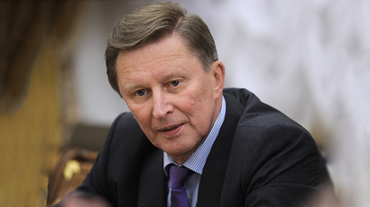 Chief of Staff of the Russian Presidential Administration Sergey Ivanov (RIA Novosti / Aleksey Nikolskyi)
